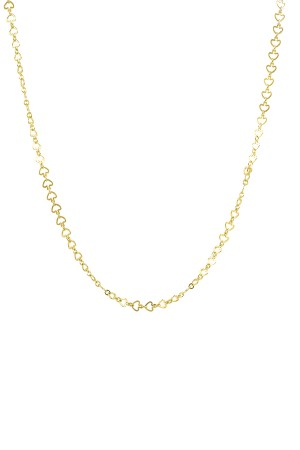 COMFORT ZONE - A BIT HEART - Layering Chain Necklace