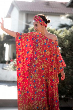 HAPPY SEASONS - AFRO - Maxi Dress
