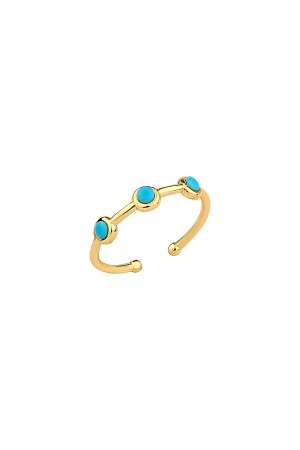 COMFORT ZONE - AIDA - Dainty Turquoise Ring