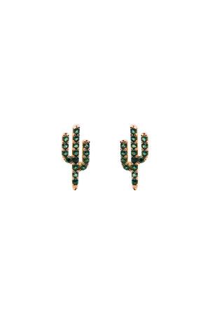 PLAYGROUND - ALBIFLORA - CZ Cactus Studs