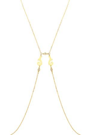 SHOW TIME - ALIA -Dainty Body Necklace (1)