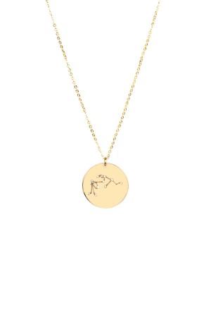 PETITE JEWELRY - AQUARIUS - Star Sign Necklace