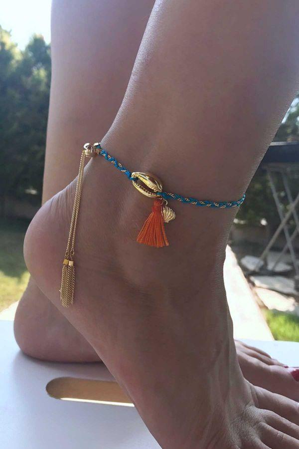ARCADIA - Braided Anklet