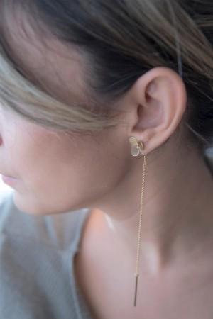 COMFORT ZONE - ASYMMETRIC CLOVER - Asymmetric Earrings (1)