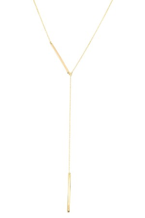COMFORT ZONE - ASYMMETRIC - Lariat Necklace