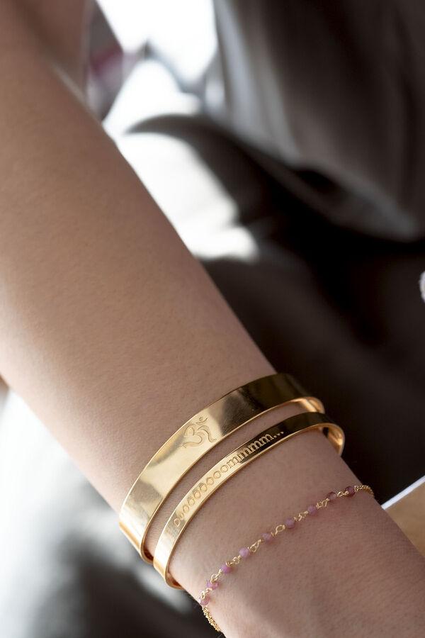 AUM CUFF - Om Sign Bracelet