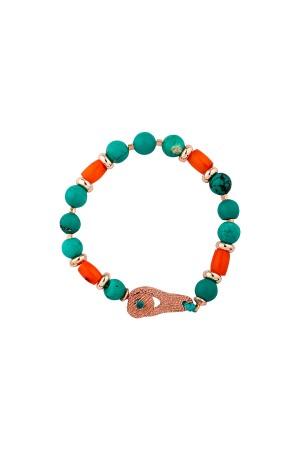 COMFORT ZONE - AZURE - Natural Stone Bracelet