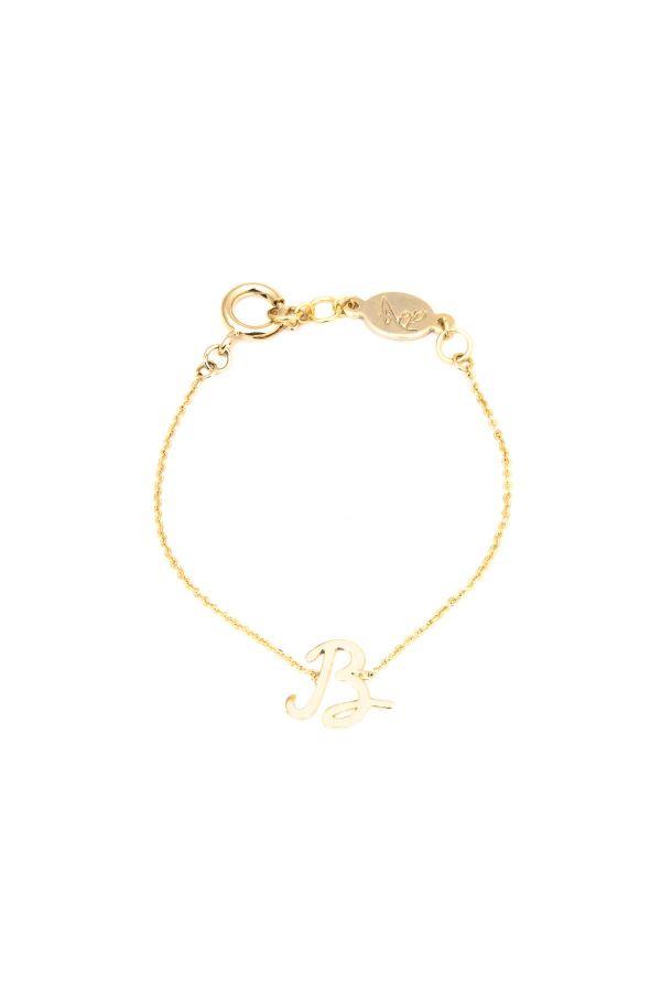 B - Letter Bracelet