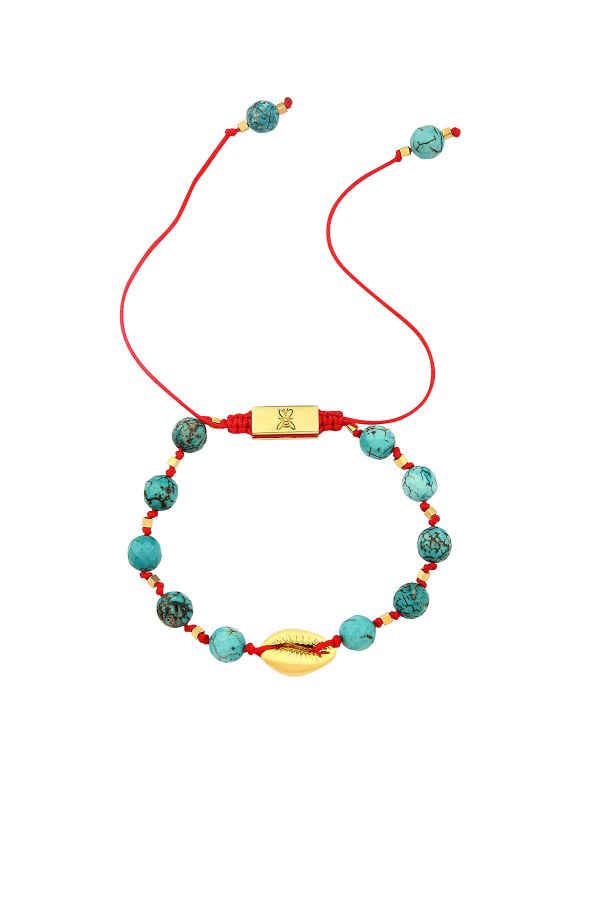 BABYLONIA - Electroformed Seashell Bracelet