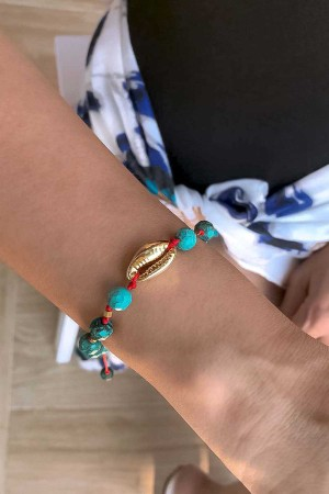 PLAYGROUND - BABYLONIA - Electroformed Seashell Bracelet (1)
