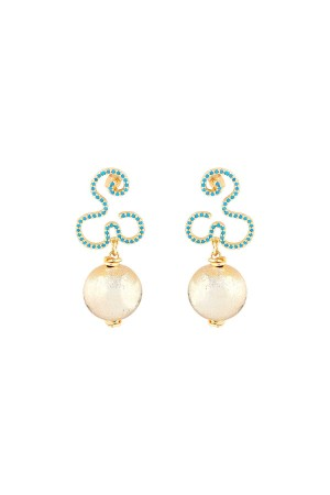 BALL DROP - Drop Earrings - Thumbnail