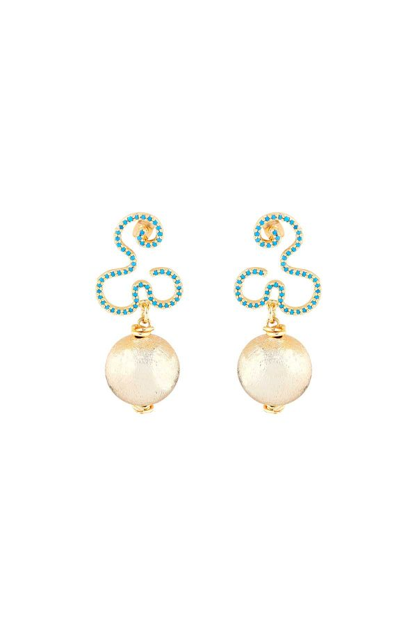 BALL DROP - Drop Earrings