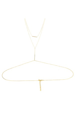COMFORT ZONE - BAR - Body Necklace
