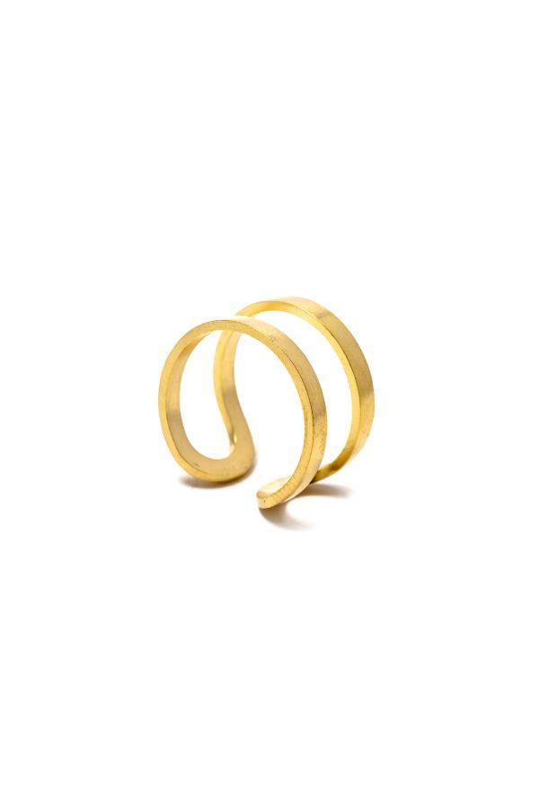 BARRIERS - Altın Kaplama Yüzük