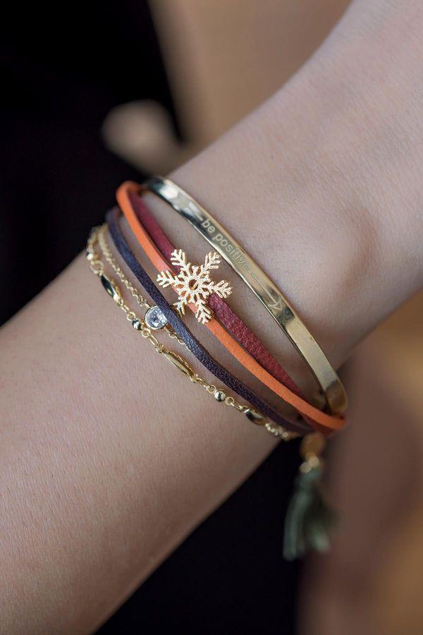 BE POSITIVE - Multilayered Bracelet