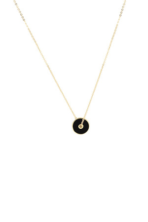 COMFORT ZONE - BIG BANG - Black - Pendant Necklace