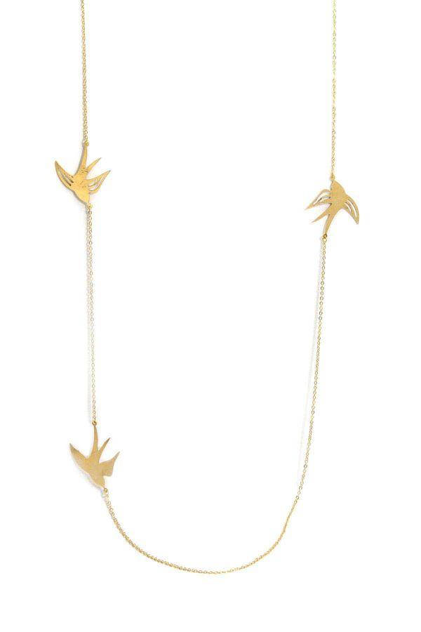 BIRD - Uzun Zincir Kolye