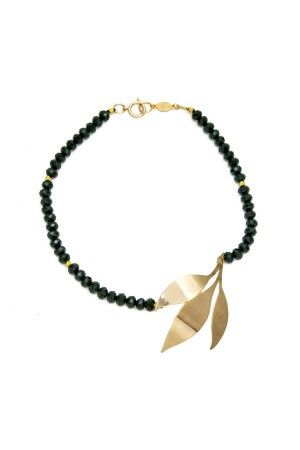 SHOW TIME - BLACK BRANCH - Sideways Necklace