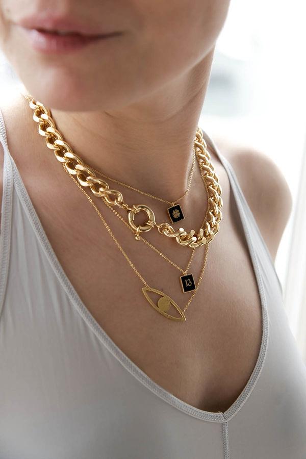 BLACK CLOVER - Pendant Necklace