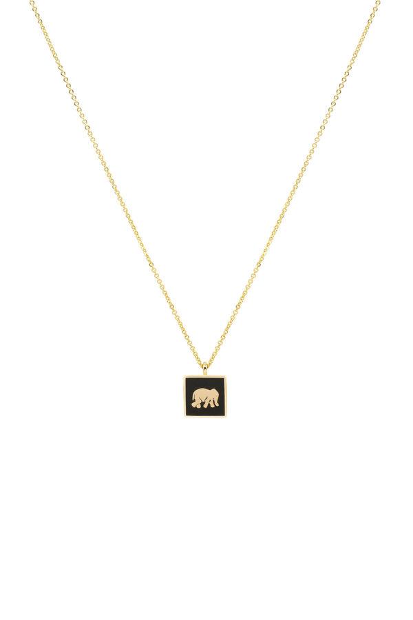 BLACK ELEPHANT - Luck Necklace