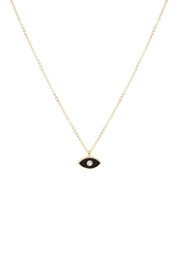 BLACK EYE - Minimal Siyah Göz Kolye