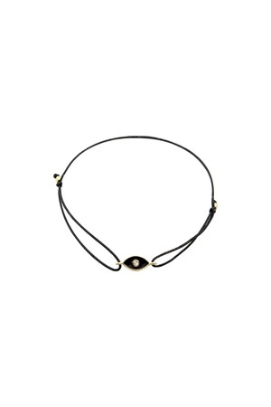 COMFORT ZONE - BLACK EYED - Eye Bracelet