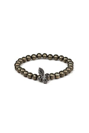 MANLY - BLACK KING - Beaded Men's Bracelet