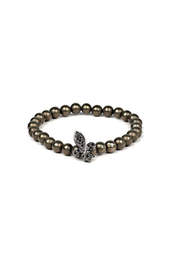 BLACK KING - Beaded Men's Bracelet