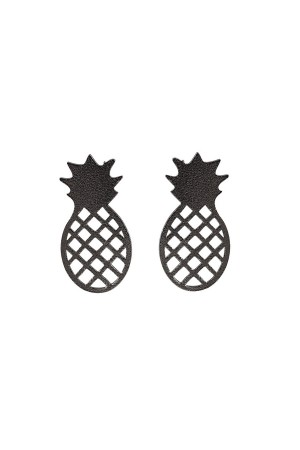 PLAYGROUND - BLACK PINEAPPLE - Ayakkabı Broşu