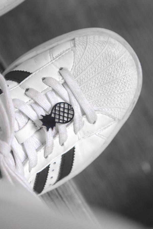 BLACK PINEAPPLE - Ayakkabı Broşu