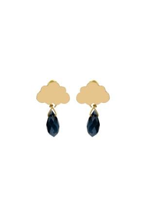 PLAYGROUND - BLACK RAIN - Dangle Earrings