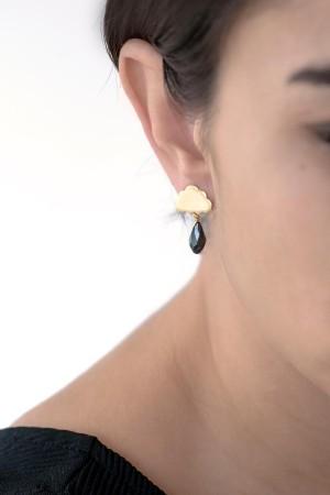 PLAYGROUND - BLACK RAIN - Dangle Earrings (1)