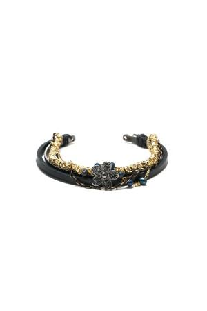 BAZAAR - BLACK ROMANTIC - All in One Stacking Bracelet
