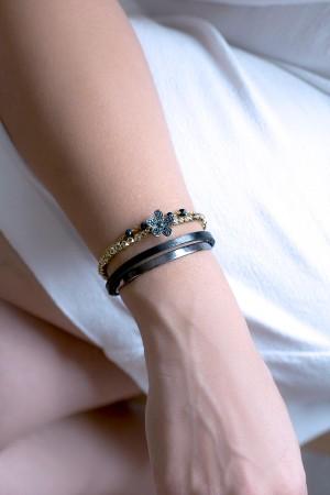 BAZAAR - BLACK ROMANTIC - All in One Stacking Bracelet (1)