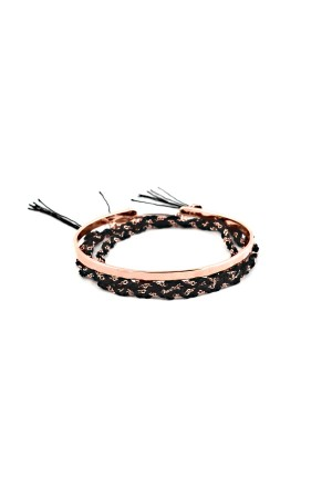 COMFORT ZONE - BLACK ROSE - İkili Bileklik Seti