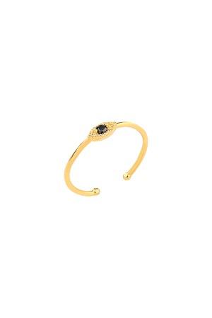 COMFORT ZONE - BLACK SPIRIT - Eye Ring