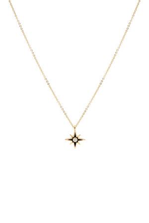 COMFORT ZONE - BLACK STAR - Minimal Siyah Yıldız Kolye