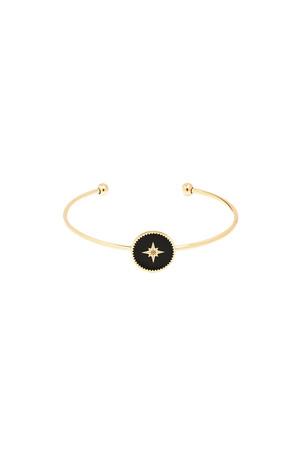 COMFORT ZONE - BLACK STAR - Yıldız Detaylı Bileklik