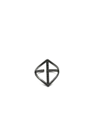 BAZAAR - BLACK TRIANGLE - Üçgen Yüzük