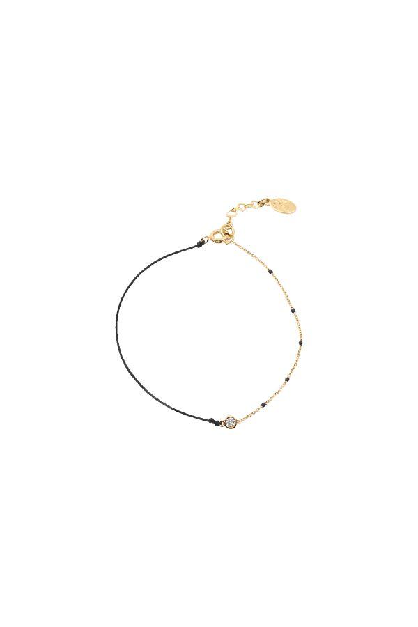 BLACK DOT - Kabbalah Bracelet