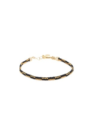 COMFORT ZONE - BLACKIE - Miyuki Beaded Bracelet