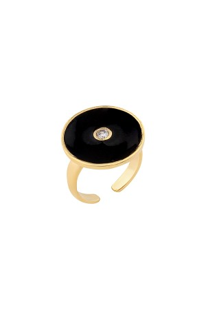 SHOW TIME - BLACKISH- Statement Ring