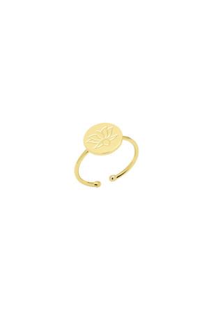 COMFORT ZONE - BLOSSOM - Lotus Flower Ring