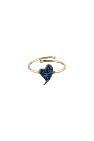 PETITE FAMILY - BLUE BEAT - Blue Sapphire Ring