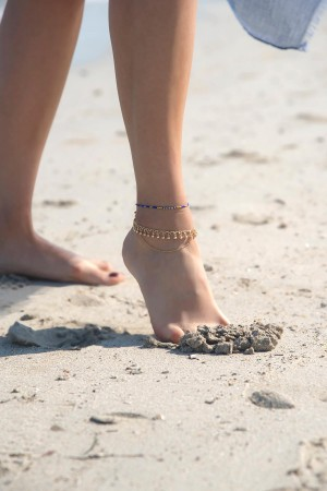 PLAYGROUND - BLUE BLUE - Anklet (1)