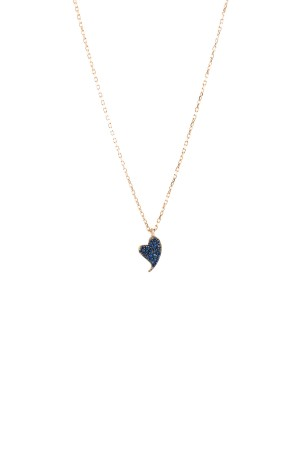 PETITE FAMILY - BLUE DIAMOND BEAT - Blue Sapphire Pendant (1)