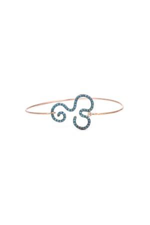 BAZAAR - BLUE FLOW - Kelepçe Bileklik