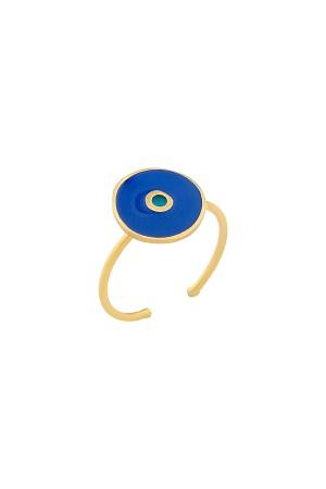 COMFORT ZONE - BLUE GUARD- Evil Eye Ring