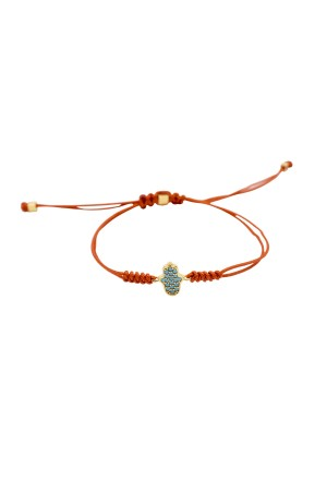 PLAYGROUND - BLUE HAND - Sliding Knot Bracelet