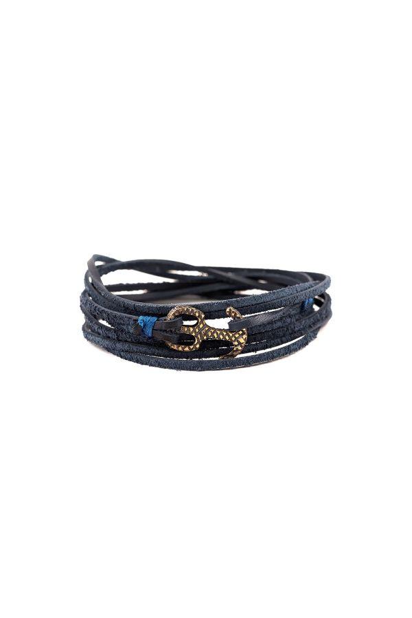 BLUE MARINE - Wrap Bracelet